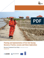Planning and Implementation of Post-Sidr Housing Recovery