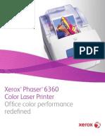 Phaser 6360 Broc