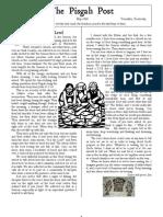 May 2006 Pisgah Post Newsletter, Pisgah Presbyterian Church