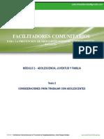 Modulo 2- Texto 2 - Consideraciones Para Trabajar Con Adolescentes y Jovenes