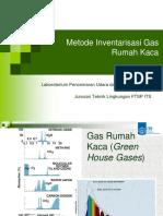 Metode Inventarisasi Emisi Gas Rumah Kaca