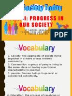 Social Studies Entry - Oral Presentation #1