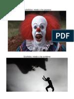 10 Tipos de Fobias Imagenes