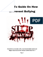 expos bullying project