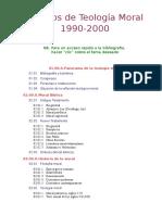 Bibliografía Moral 1990-2000
