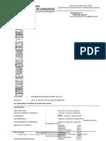 Certificado de Parametros Urbanos SAN JUAN DE LURIGANCHO