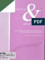 Arquivo e Administração