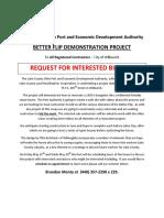 Better Flip Request for Interested Bidders