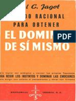 El Dominio de Si Mismo - Paul Jagot