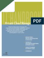 Handbook Private Cloud Management Final
