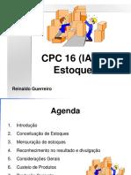 Topico 3 b pronunciamento 16 do CPC Estoques.ppt