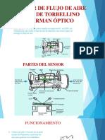 Sensor de Flujo de Aire Tipo de Torbellino