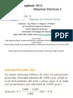 Características Tecnicas Del Motor Asincrono Trifasicos
