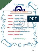 cartula senati