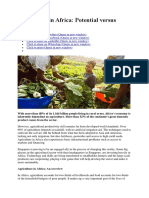 Agriculture in Africa.docx