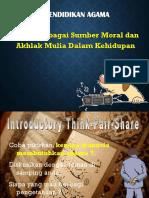 Materi 5 (Agama Sebagai Sumber Moral & Akhlak)
