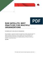RHN SATELLITE BEST PRACTICES FOR MULTIPLE ORGANIZATIONS.pdf