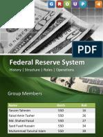 Presentation on Federal Reserve System