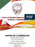 (3) Partes de La Federación