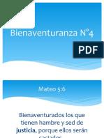 Bienaventuranza N°4