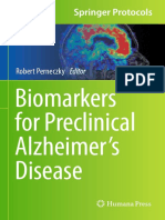 Clinical Biomarker for Alzheimer