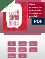 Foro Social Mundial-CIUDADANIA