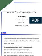 PM - Lecture 01