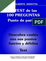 Test de Las 100 Preguntas