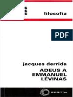 (1997a) Derrida - Adeus a Emmanuel Lévinas.pdf