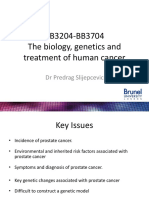 Prostate Cancer Treatment and Genetics(1)