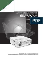 Processadora de Vídeo Pentax Epk-1000 - Mu