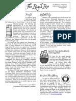 April 2009 Pisgah Post Newsletter, Pisgah Presbyterian Church