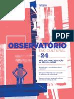 Revista Observatório 24 - Itaú Cultural