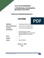 Estructura de Informe PPP I UCT