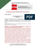 Evaluacion II - Recursos Humanos y La Ley Servir