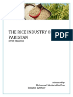 The Rice Industry of Pakistan