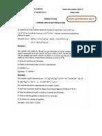 Correction Epreuve de Chimie Des Electrolytes 2014 2015 2