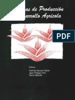 Sistemas de Produccion y Desrrollo Agricola