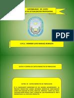 Costeo y Control Costos Indirectos de Fabricacion