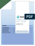 ALUNO - CADERNO ENADE DIREITO  2017.2.pdf
