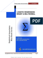 G. David Garson-Logistic Regression_ Binary and Multinomial-Statistical Associates Publishing (2014)