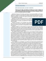 DECRETO 84-2018, Prestaciones Facilitenutilización Del Servicio de Comedor Escolar