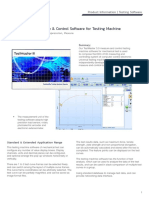 TestMaster V3 Measure & Control Software for Testing Machinea