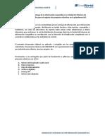 Documentos y Archivos Requeridos en La Unidad de Sistemas de Información Geográfico Para El Registro en La Plataforma SIG