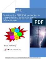 Solutions for EMP EMI Protection in Control Rooms Whitepaper En