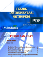 Copy of Teknik Instrumentasi Orthopedi