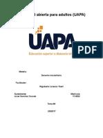 Tarea 4 Derecho Inmobiliario UAPA