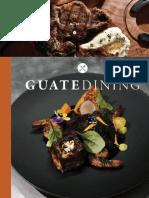 Colaboración en la revista Guatedining - Edición 41 - Febrero 2018