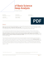 Basis Peak Sleep Analysis