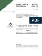 NTC-IEC60601-2-2